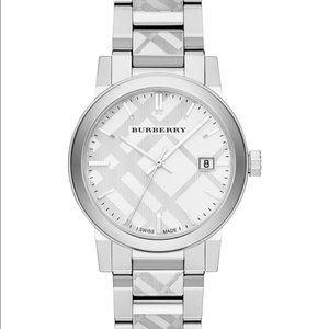 Burberry Unisex Swiss Stainless Steel Bracelet Watch 38mm BU9037 The City